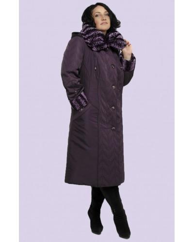Зимове жіноче довге пальто. Модель 006. опт
