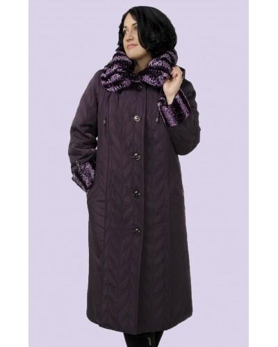 Зимове жіноче довге пальто. Модель 006