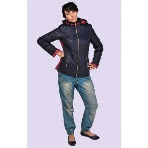 Куртка женская короткая демисезонная. Модель 014