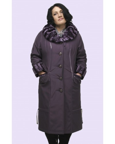 Пальто женское зимнее. Модель 017