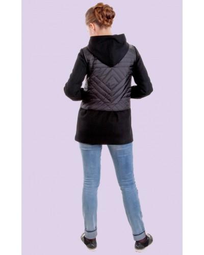 Пальто женское демисезонное кашемировое. Модель 020