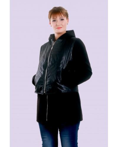 Пальто жіноче демісезонне кашемірове. Модель 020
