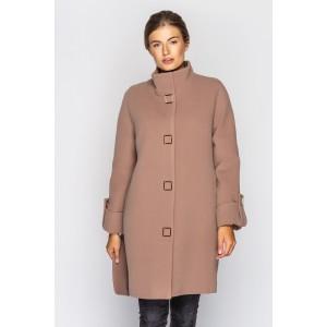 Пальто жіноче демісезонне кашемірове. Модель 021