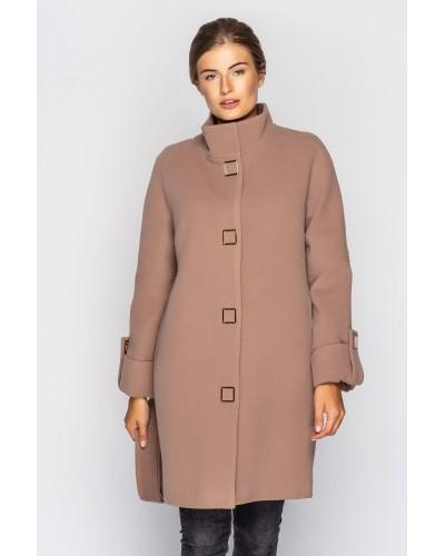 Пальто женское демисезонное кашемировое. Модель 021