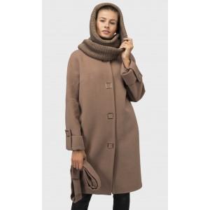 Зимове жіноче кашемірове пальто. Модель 021 А. опт