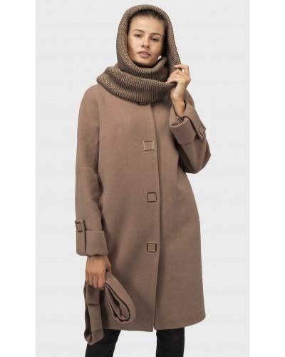 Зимове жіноче кашемірове пальто. Модель 021 А