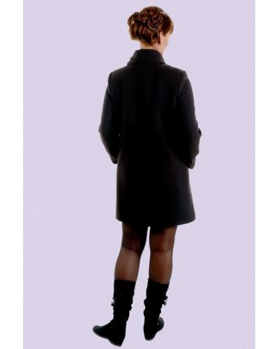 Пальто женское демисезонное кашемировое. Модель 024