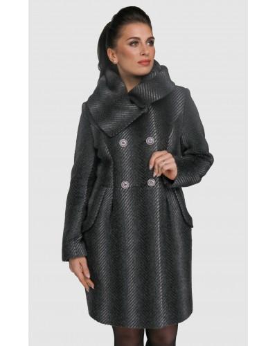 Пальто жіноче демісезонне кашемірове. Модель 025. опт