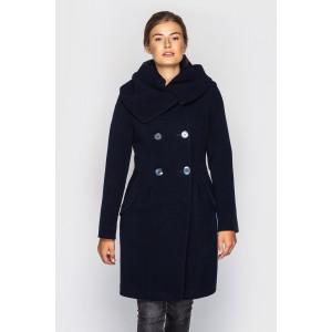 Пальто женское демисезонное кашемировое. Модель 025