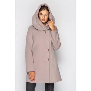 Пальто жіноче демісезонне кашемірове.  Модель 027