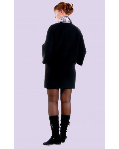 Пальто женское демисезонное кашемировое. Модель 028
