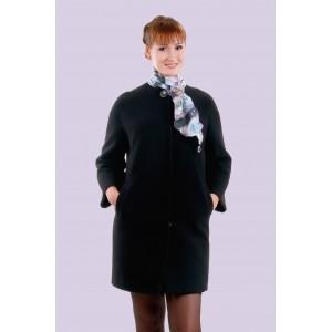 Пальто жіноче демісезонне кашемірове. Модель 028 . опт