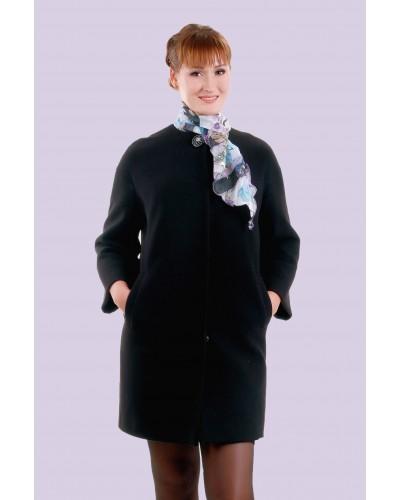 Пальто жіноче демісезонне кашемірове. Модель 028