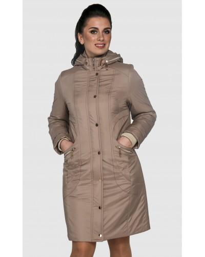 Куртка плащ жіноча довга демісезонна. Модель 033