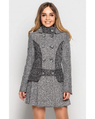 Пальто демісезонне. Модель 038