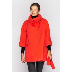 Пальто жіноче демісезонне кашемірове коротке. Модель 051. опт