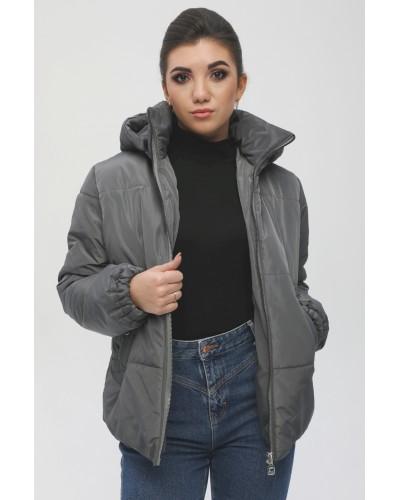 Женская куртка с капюшоном. Модель 056
