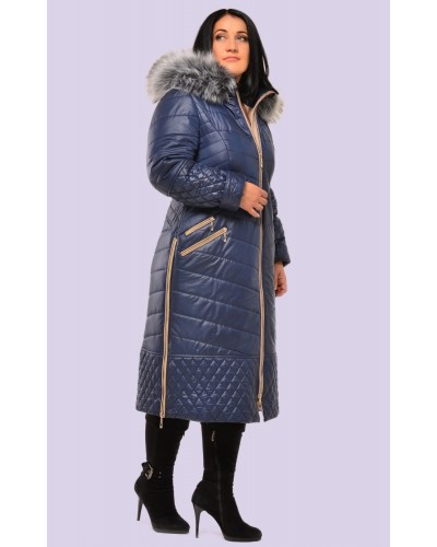 Пуховик женский зимний. Модель 061. опт
