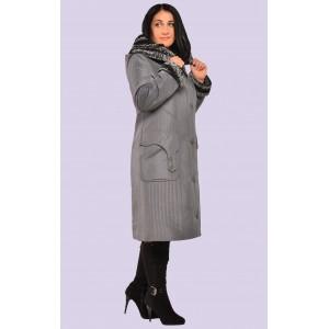 Пальто пуховик зимний для женщин. Модель 063