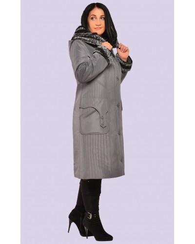 Пальто пуховик жіночий зимовий. Модель 063
