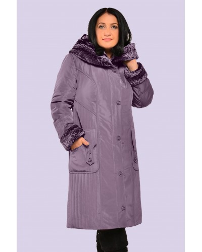 Пальто пуховик женское зимнее. Модель 063. опт