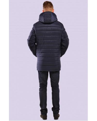 Куртка  чоловіча зимова з капюшоном. Модель 065