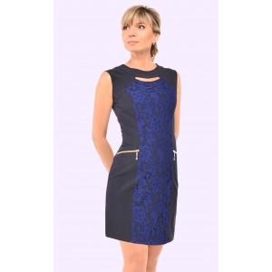 Женское летнее короткое платье. Модель 077