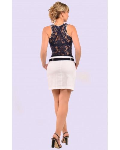 Женское летнее короткое платье. Модель 078