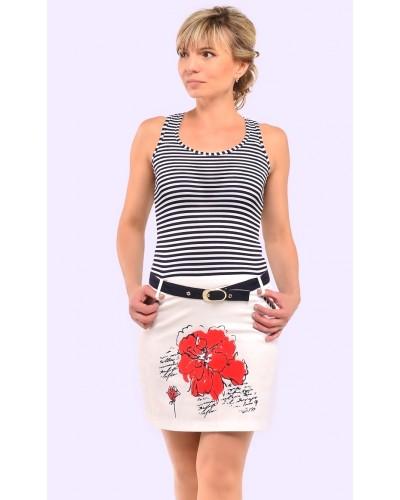 Женское летнее короткое платье. Модель 078. опт
