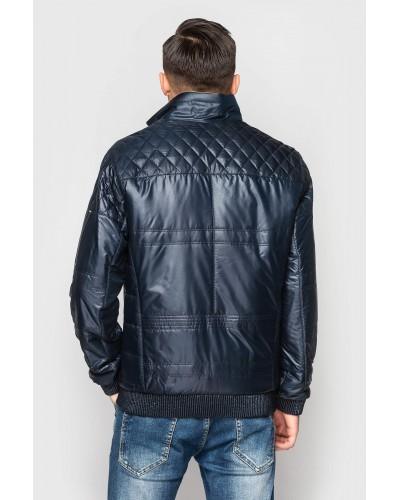 Куртка чоловіча демісезонна під гумку. Модель 079