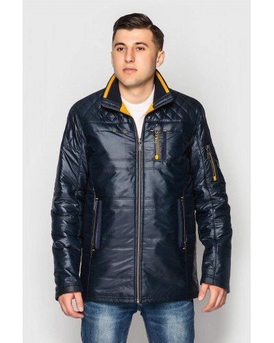 Куртка чоловіча демісезонна пряма. Модель 080