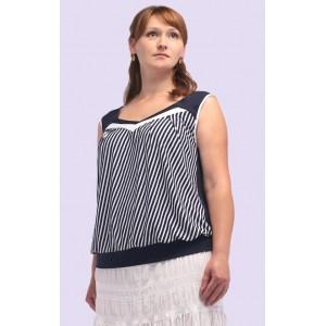 Женская трикотажная блузка. Модель 109