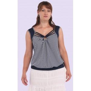 Жіноча трикотажна блуза. Модель 110. опт
