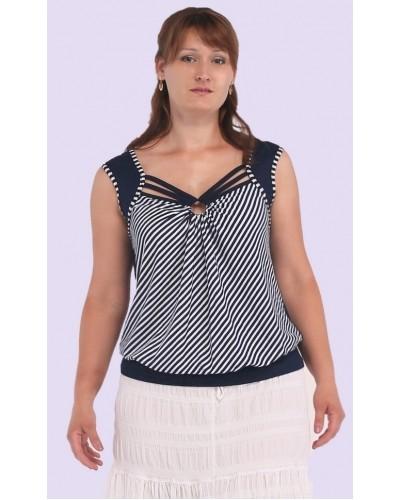Жіноча трикотажна блуза. Модель 110