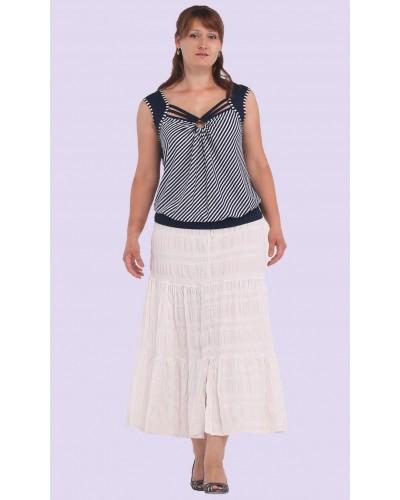 Женская трикотажная блузка. Модель 110