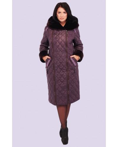 Пуховик зимовий жіночий. Модель 116