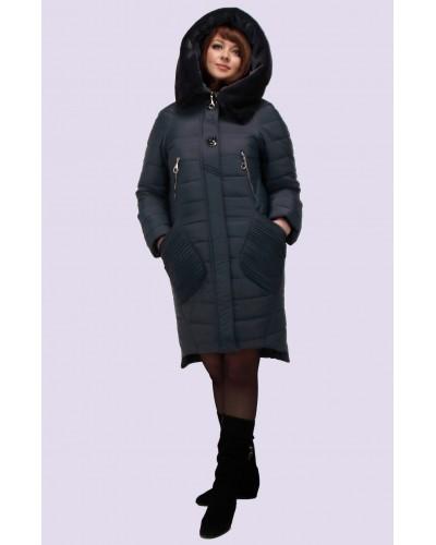Зимовий жіночий пуховик-парка. Модель 150. опт