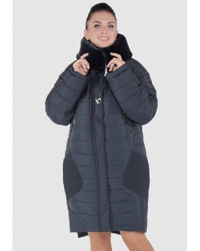 Зимовий жіночий пуховик-парка. Модель 150