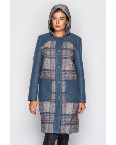 Пальто жіноче демісезонне. Модель 163