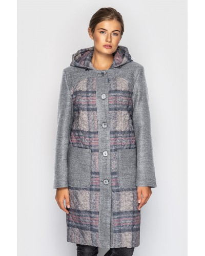 Пальто женское демисезонное. Модель 163