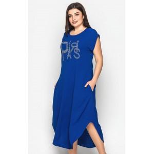 """Жіноче довге плаття """"Париж"""" в стилі бохо. Модель 177"""