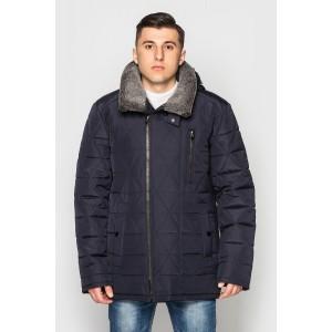 Куртка чоловіча зимова з хутряним коміром. Модель 179. опт