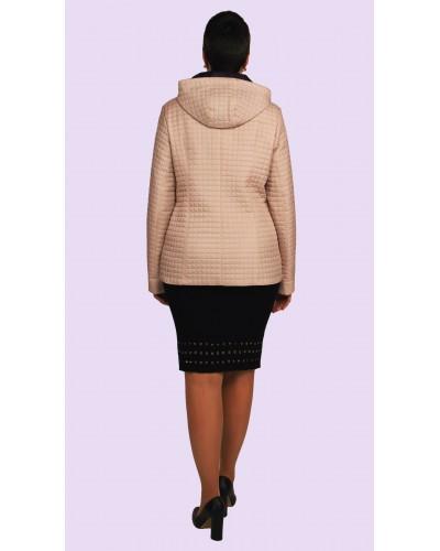 Куртка женская демисезонная короткая. Модель 180