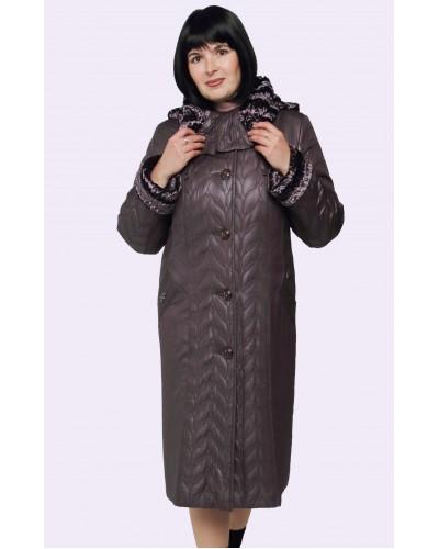 Пальто зимове жіноче. Модель 185 опт
