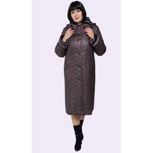 Пальто зимове жіноче. Модель 185