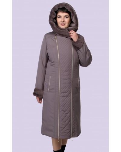 Женское зимнее пальто. Модель 187