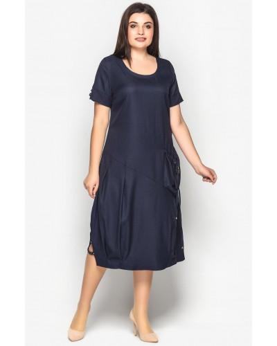 Жіноче літнє плаття в стилі бохо. Модель 188