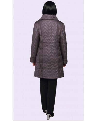 Куртка женская длинная демисезонная. Модель 199
