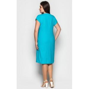 Жіноча літня лляна сукня. Модель 206. опт