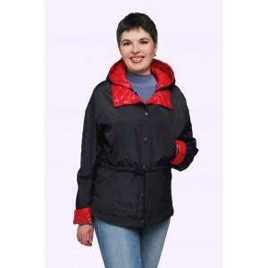 Куртка-тройка женская демисезонная. Модель 207